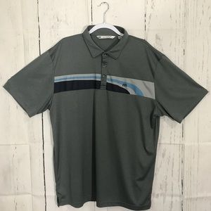 Travis Matthew XXL Polo Shirt Short Sleeve Gray